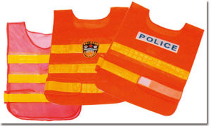 Reflective Safety Vest with High Crystal Tape, Customized Logo pictures & photos