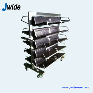 ESD Stainless Steel Trolley for Electronic Manufacturing pictures & photos