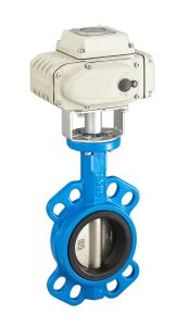 Wcb Wafer Butterfly Valve with Actuator CE Certification pictures & photos