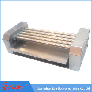 CE Approved Hot Dog Roller with Stainless Steel Glass Cover pictures & photos