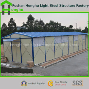Low Cost K & T Type Prefabricated House with High Quality pictures & photos