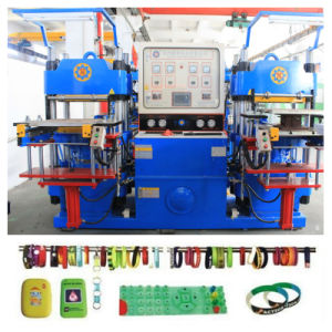 Silicone Rubber Wristband/Bracelet Vulcanizing Molding Machine pictures & photos