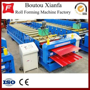 Double Deck Roof Panel Roll Forming Machine (XF1036-1025)