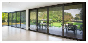 Aluminium Lowes Sliding Screen Door, Door Manufacture pictures & photos