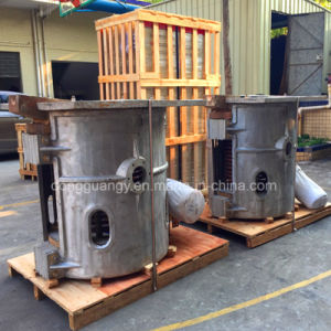Manufacture Direct Sale 200kg Aluminum Induction Melting Furnace pictures & photos