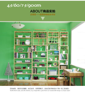China New Style Wooden Bookshelf Many Styles Are Available Cx BS029