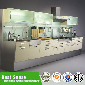 Guangzhou Bestsense Double Sided Kitchen Cabinets Pictures Photos
