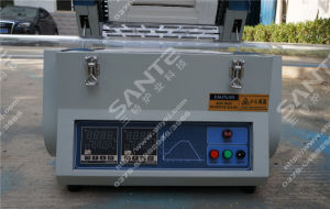 Split Vacuum Tube Sintering Furnace with Two Heating Zones and Two Controllers pictures & photos