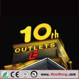 New Fashion Best Quality Outdoor 3D Glowing Neon Letter Signs pictures & photos