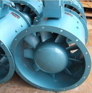 High Quality Exhaust Fan Mine Ventilation Marine Centrifugal Fan pictures & photos