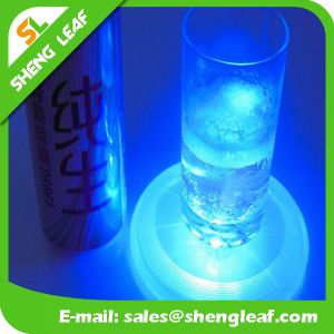 LED Fashion Custom Acrylic Coaster (SLF-LC013)