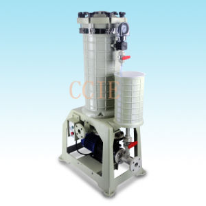 Filter Capacity 220L/Min Plating Filter for Electroless Nickel Hgf-2008-2