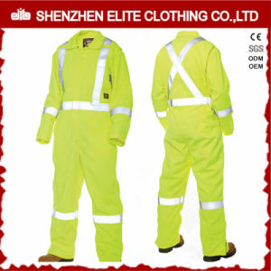 En471 Oil Field Fire Retardant Fluorescent Coveralls (ELTCVJ-70) pictures & photos