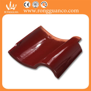 Red Glossy Color S Roof Tile Spanish Tile (L90-1) pictures & photos