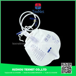 2000ml Disposable Urine Collection Drainage Bag pictures & photos