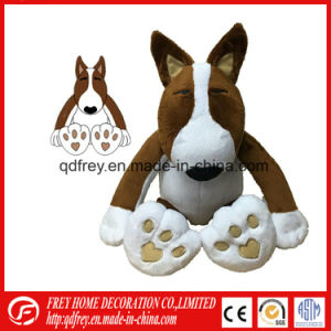 Cute Red Plush Toy Dog with Tshirt pictures & photos