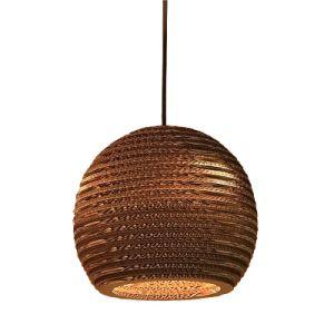 Carton Paper Material Modern Art Round Lamp Shade Pendant Lamp