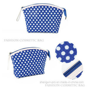 Fashion PU Cosmetic Bag with Full Logo Printing for Promotion
