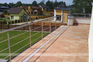 Stainless Steel Handrail Systems, Wire Fence, Balustrade Railing