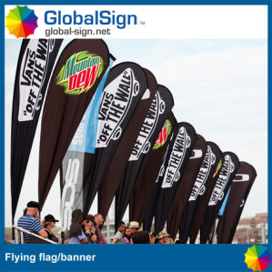 Teardrop Flags Supplier Manufacturer Shanghai Globalsign pictures & photos