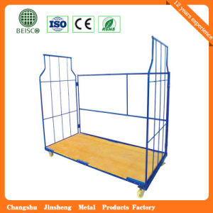 Heavy Duty Supermarket Four Sides Trolley Roll Container pictures & photos