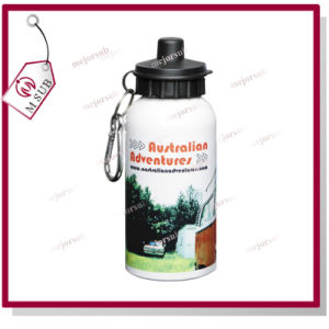 400ml White Color Sublimation Logo Printed Water Bottle pictures & photos