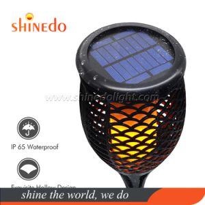 Waterproof Flickering Flames Solar Torches Lights for Outdoor Landscape Decoration