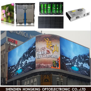 IP65 P10 Module Panel Cabinet Sign Board Outdoor LED Display Screen Video Wall for Advertising Billboard