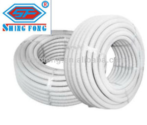 China Pvc Material Flexible Corrugated Electrical Conduit Pipe China Wiring Accessories Pvc Flexible Pipe Building Material Pvc Cable Pipe