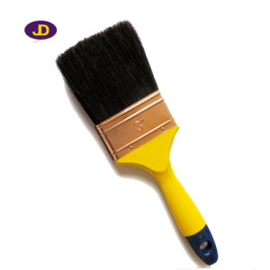 Black Bristle Wooden Handle paint Brush Factory pictures & photos