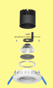 Wholesale High Power 15W Aluminum Ce/RoHS LED COB MR16 Spotlight pictures & photos