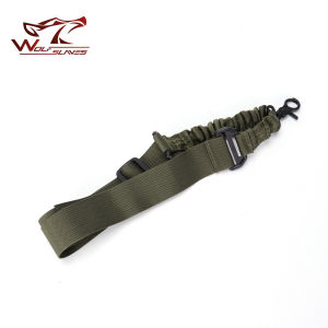Tactical 1 Point Bungeerifle Gun Airsoft Sling Adjustable pictures & photos