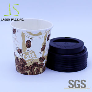 Single Wall Paper Cup with Lid Paper Cup Factory