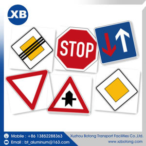 china reflective sheet metal reflective octagon traffic signs