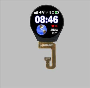 1 30′′ Round TFT LCD Display Round TFT LCD Screen Panel