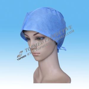 Disposable Surgical Caps for Women with Ce pictures & photos