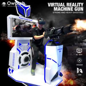 0970ae36e85c Quality Assurance New Item High Revenue Virtual Reality Gatling Machine  Simulator with HTC Vive