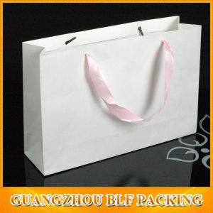 Custom Shopping Gift Hang Bag Paper pictures & photos