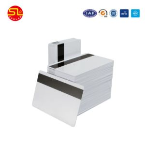 RFID Plastic PVC Blank Card with Hico Magnetic Strip