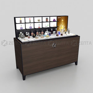 High Grade Perfume Shop Display Cabinet Counter Display For Perfume