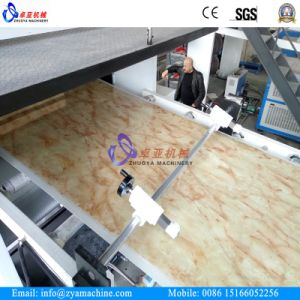 PVC Artificial Marble Board/ Imitated Decorative Wall Panel Extruder Machine pictures & photos