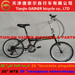 "Tianjin Gainer 20"" Folding Bicycle 21sp Stable Quality"
