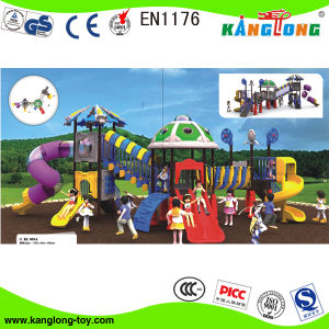 2014 Plastic Outdoor Playground for School (2014-055A) pictures & photos