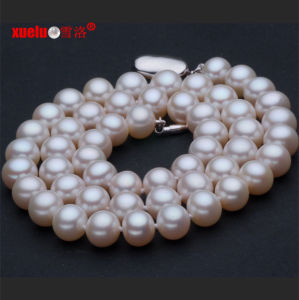 9-10mm AAA Cultured Freshwater Pearl Necklace Jewelry (E130017) pictures & photos