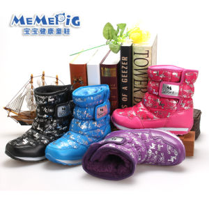 Meme Pig Children′s Shoes, Cotton Shoes Fashion Warm Winter, to Protect The Child′s Feet Is Not Cold