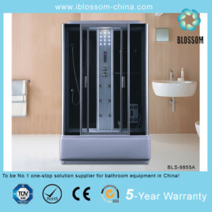 New Product Grey Glass Complete Steam Shower Room (BLS-9855A) pictures & photos