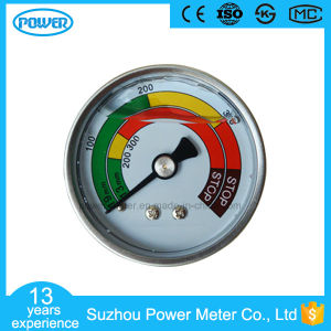 50mm Stainless Steel Case Back Thread Type Liquid Filled Pressure Gauge pictures & photos