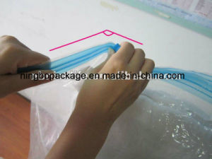 Clear Plastic PA+PE Vacuum Storage Flat Bag 60*90cm for Pack Blanket and Quilt pictures & photos