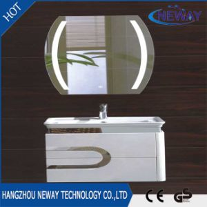 Wholesale PVC Wall Waterproof Bathroom Cabinet With LED Mirror