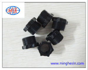 Black Plastic Round Part with ISO SGS